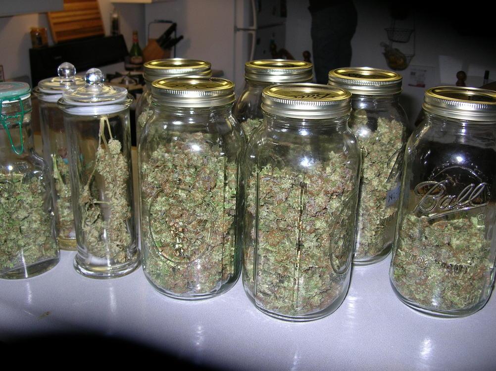 Ounce Of Weed Mason Jar Blog - DRYING AND CURI...