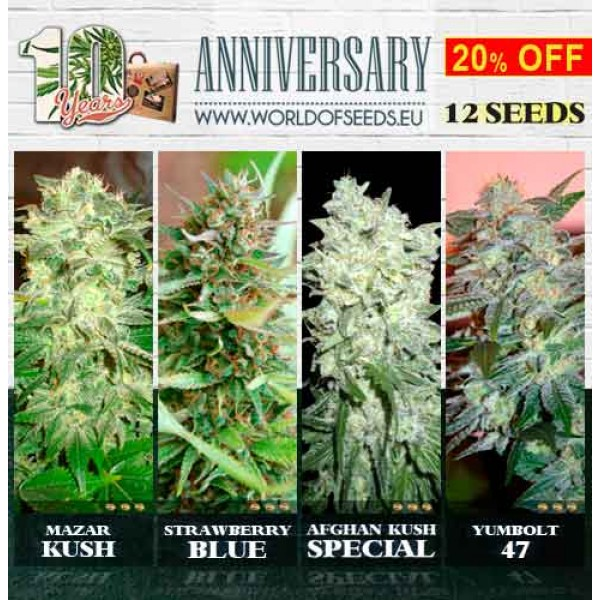 10th Anniversary Pack - WORLDOFSEEDS - SPECIAL COLLECTIONS