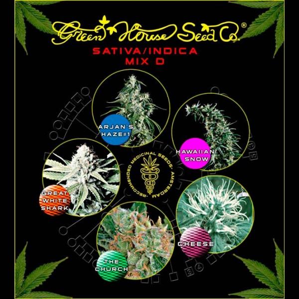 Mix - Sativa/Indica D - GREENHOUSE