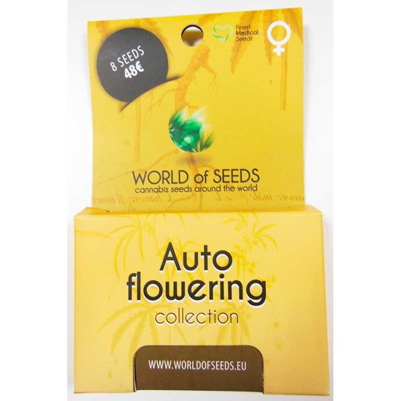 Autoflowering Collection - 8 seeds - SPECIAL COLLECTIONS - WORLDOFSEEDS
