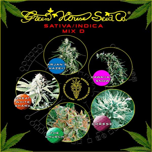 Sativa / Indica Mix D - Collections - GREENHOUSE