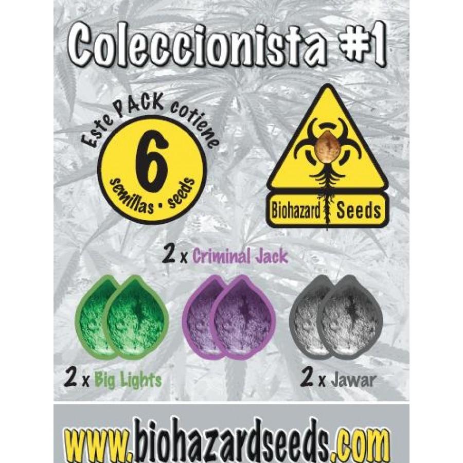 6 UND - COLECCIONISTA #1 - FEM (BIOHAZARD SEEDS)