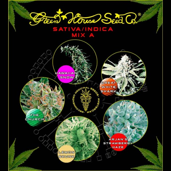 Sativa / Indica Mix A - GREENHOUSE
