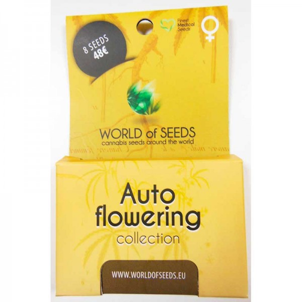Autoflowering Collection - 8 seeds - WORLDOFSEEDS - SPECIAL COLLECTIONS