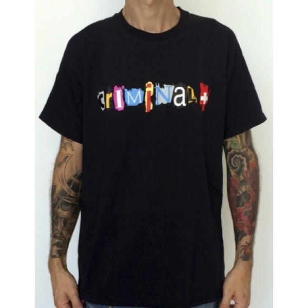 Camiseta Logo Criminal+ - Merchandising - RipperSeeds