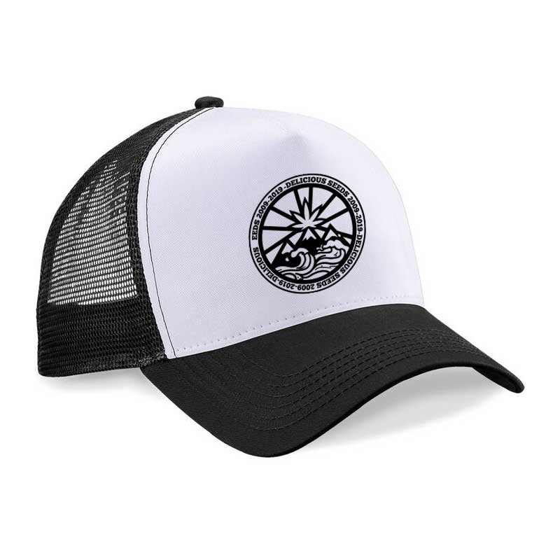 Black and White Cap - Delicious Seeds - Merchandising