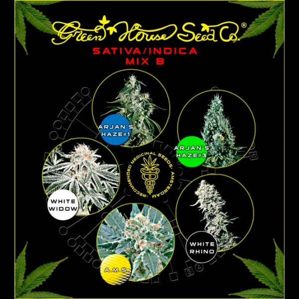 Sativa / Indica Mix B - GREENHOUSE