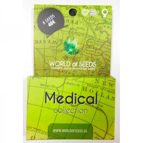 Medical Collection - 8 seeds - WORLDOFSEEDS - SPECIAL COLLECTIONS