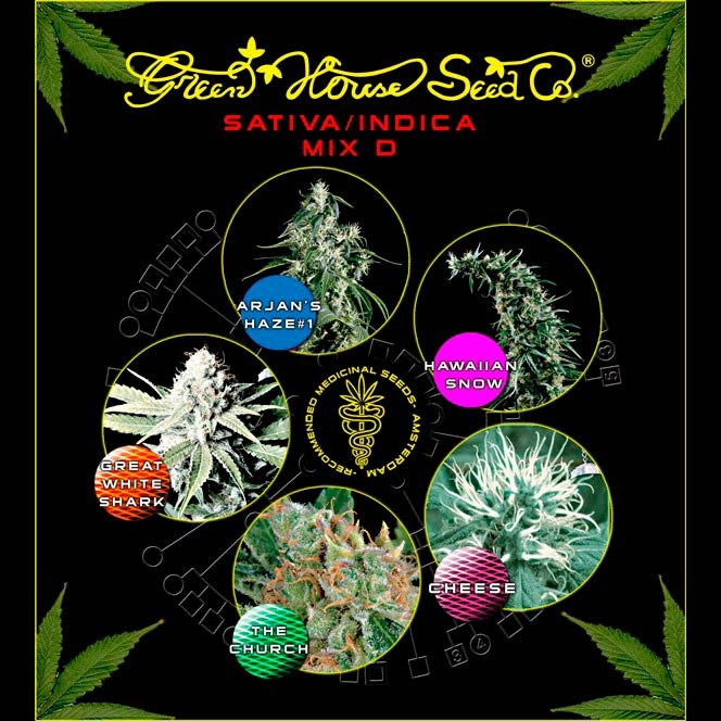Mix - Sativa/Indica D - Collections - GREENHOUSE