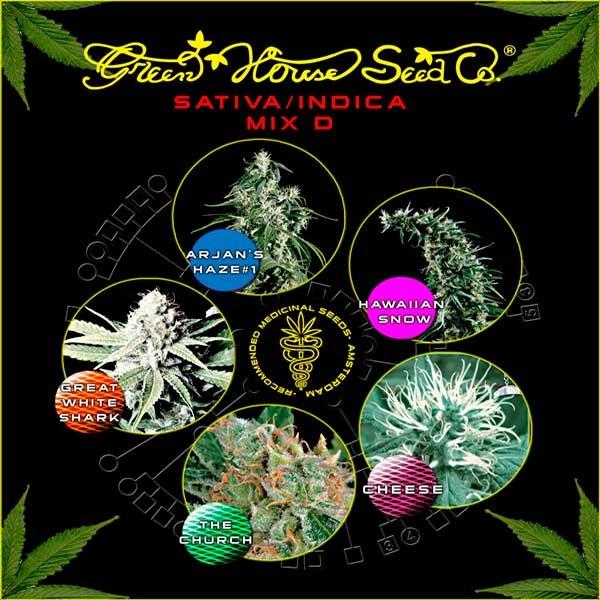 Sativa / Indica Mix D