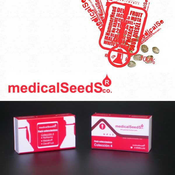Collection #4 6 graines - MEDICAL SEEDS