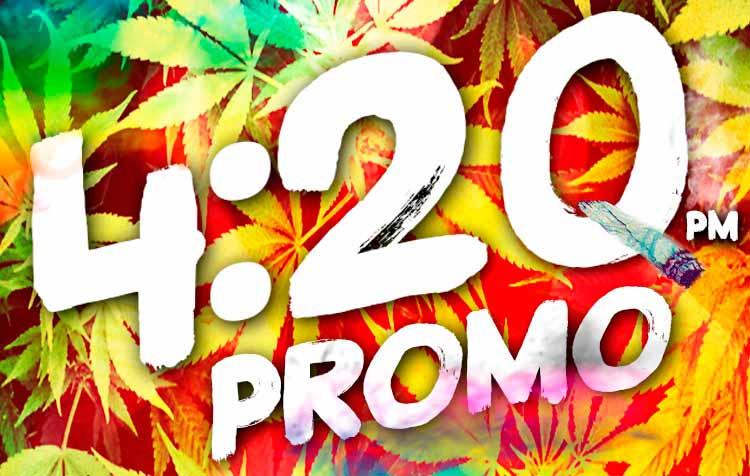 420 PROMO - 50% OFF